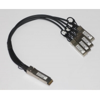 Direct Attach Cables 40G QSFP+ to 4x10G SFP+ Passive Direct Attach Copper Breakout Cable