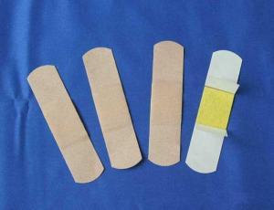 China sterile plastic skin color adhesive bandage on sale