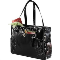 The Fine Society Nicole Quilted Checkpoint-Friendly Compu-Tote