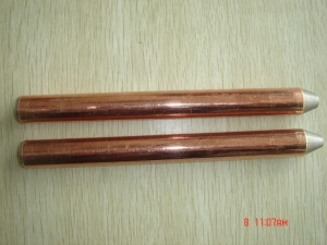China Earth Anchor Hardware Copper Clad Earth Rod on sale