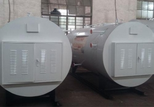 China Horizontal electric heating hot water boiler on sale