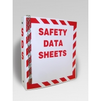 material safety data sheet file fold,MSDS ring binder folder
