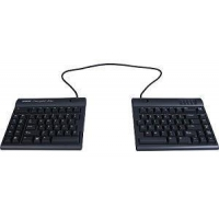 "Kinesis Freestyle2 Blue Wireless Ergonomic Keyboard for PC (20"" Extended Separation)"