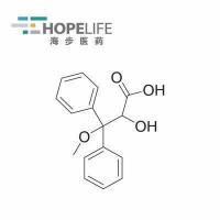 China Intermediates 2-Hydroxy-3-Methoxy-3,3-diphenylpropanoic Acid on sale