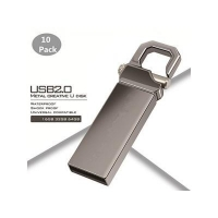 3. 32GB USB 2.0 Flash Drive Waterproof Metal Flash Drive