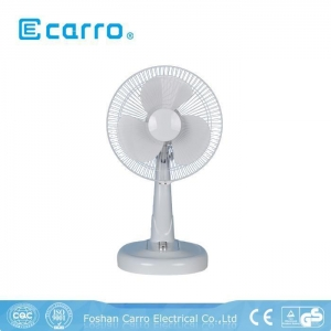 China DC solar panel contral rechargeable desk fan DC-12V12M3 on sale