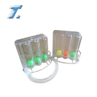 Medical Product lung exerciser 3 ball Incentive spirometer