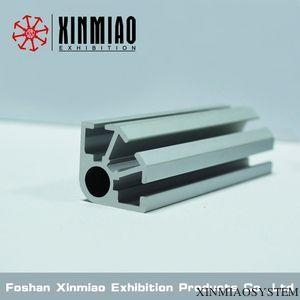 China Exhibition standard system,3 system grooves, Upright post for shell scheme booth on sale