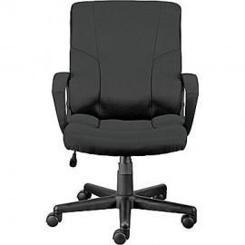 China Stiner Fabric Managers Chair Black on sale