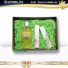 China HoneySuchle Flower Parfum body wash shower gel and perfume gift set on sale