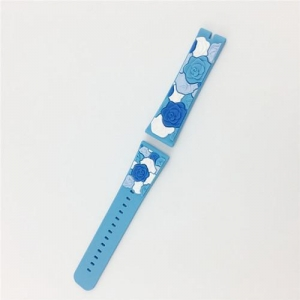 China Silicone watch strap Item No.: OKSWS-001 on sale
