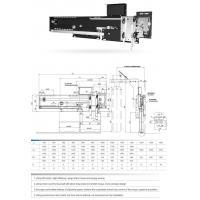 2 panels side opening AC PM door operator