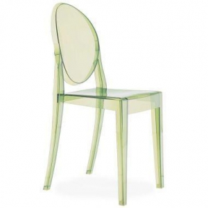 China Furniture Kartell Victoria Ghost Crystal Clear Chair by Philippe Starck on sale