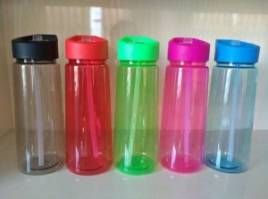 China Best Sale BPA Free Health Sport Water Bottle with Straw on sale