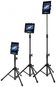 China Raking Floor Stand Tablet Tripod Mount Holder with Tripod Ba on sale