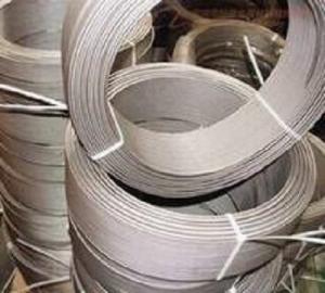 China Titanium Flat Wire  Gr5/Gr7/6Al-4V ELI//5Al-2.5Sn/medical/electrode Wire on sale