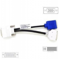 Dvi Cable Monitor DMS59 DMS-59 Male to DVI-I VGA Female Y-Splitter Adapter Video Cable NVS