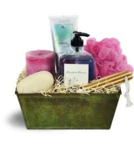 China Soothing Spa Basket on sale