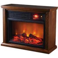 China TWFP1510 DARK OAK Infrared Fireplace Heater on sale