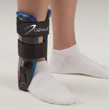 China Ankle Support Braces Air/Gel Ankle Stirrup Black & Blue on sale