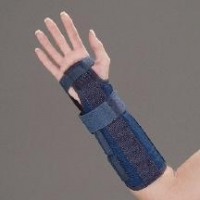 Universal Two-Panel Wrist and Wrist/Forearm Splint