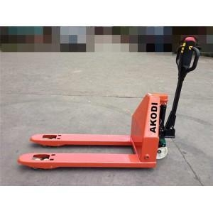 China Semi-electric Hand Pallet Truck on sale
