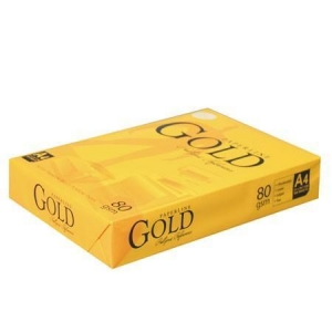 China DOUBLE A4 COPY PAPER Paperline Gold Paper A4 80gsm on sale