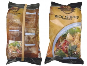 China ATTILA Rice Flour Noodles , Rice Ribbon NoodlesVegetables Cooking Together on sale
