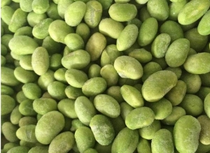 China Natural Frozen Processed Food , Healthy Frozen FoodsFresh Green Edamame Peas on sale