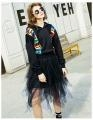 China Fashion & Casual Wear Cheap Wholesale Black Custom Hoodie With Print on sale