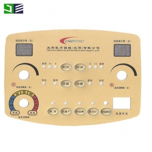 China Flat Keys Non-Tactile Membrane Switch Keypad Keyboard For Hobart Scale on sale