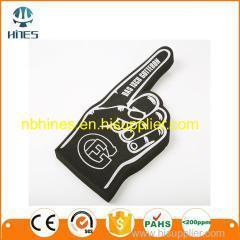 China Wholesale cheap eva hand cheering foam finger on sale