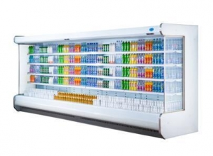 China splicing multi-deck open display chiller MD series refrigerator on sale