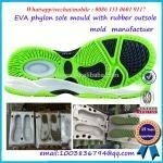 China Good quality EVA phylon mold for making EVA with TPR sole on sale