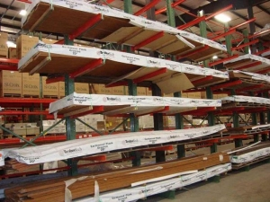 China Lumber and Pipe Storage Heavy Duty Double Arm Cantilever Rack on sale