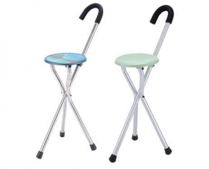 China Folding Crutch Stool on sale