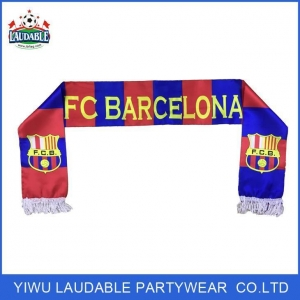 China Football Club Barcelon Football Fan Scarves on sale
