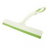 Car Auto Window Cleaning Tool Green Plastic Nonslip Handle Glass Wiper