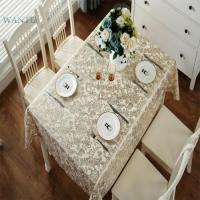 Fashion patterns anti fouling non toxic coffee gold pvc tablecloth