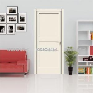 China Anti-Termite Fire-Resistant WPC Painting Door for Toilet Bedroom Kitchen on sale