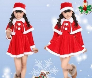 China christmas kids costome on sale