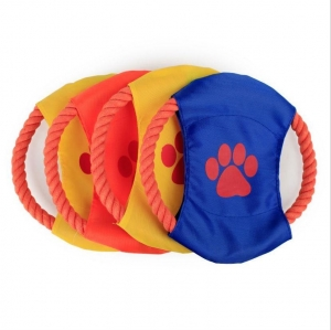 China Custom Dog Training Flying Rope Frisbee Product No.:20171030161133 on sale