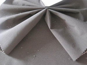 China 240T polyester pongee waterproof composite fabric on sale