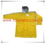 China adult raincoat #FGAC014pvc adult rain gear on sale