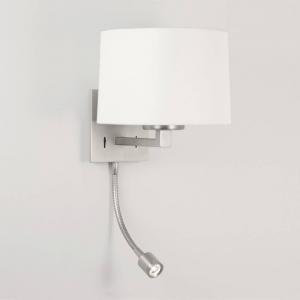 China Astro Lighting Azumi 0790 Matt Nickel LED Classic Surface Wall Light with Adjustable Spot Light on sale
