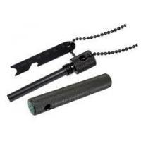 Boker Plus Magnesium Fire Starter Black Aluminum Body with Compass 09BO778C