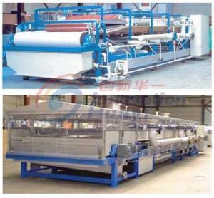 China CXF series of continuous horizontal vacuum belt filter on sale