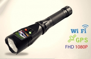 China 12 MegaPixelsHD LED flashlight camera with TFT LCD on sale