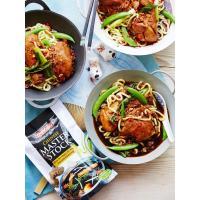 Chinese Master Stock Drunken Chicken Noodles