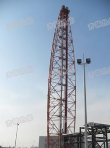 China Flare & flare gas recovery system Natural gas flare on sale